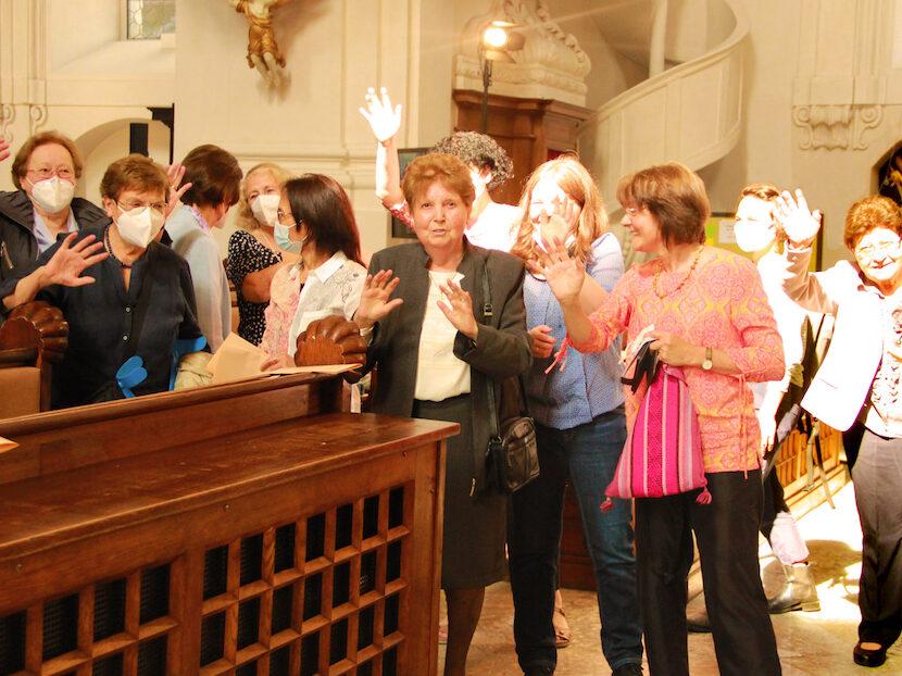 È festa per le missionarie secolari scalabriniane